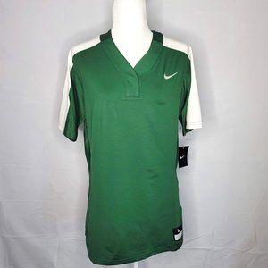 NWT Nike Vapor Pro Button Green Jersey